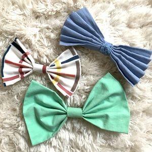 🎀 BUNDLE! Hair bows, multicolored 🎀